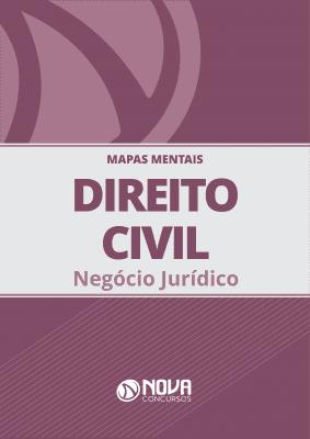 Mapas Mentais Direito Civil - Negócio Jurídico (PDF)