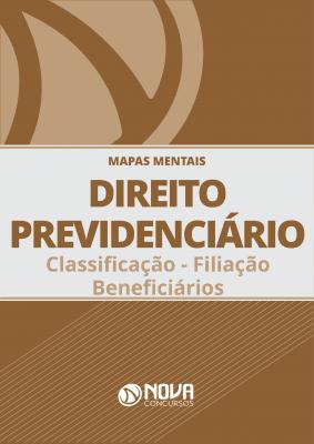 Mapas Mentais Direito Previdenciário - Classificação - Filiação - Beneficiários (PDF)