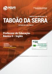 Apostila Prefeitura de Taboão da Serra - SP 2019 - Professor de Educação Básica II - Inglês