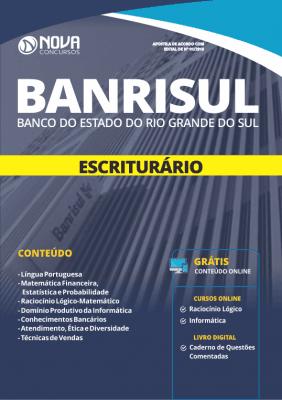 Apostila Download BANRISUL 2019 - Escriturário