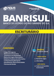 Apostila Download BANRISUL 2019 - Escriturário