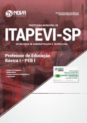Apostila Prefeitura de Itapevi - SP 2019 - Professor de Educação Básica I - PEB I
