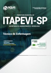 Apostila Prefeitura de Itapevi - SP 2019 Técnico de Enfermagem