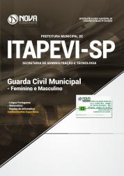 Apostila Prefeitura de Itapevi - SP 2019 Guarda Municipal Civil