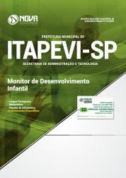 Apostila Prefeitura de Itapevi - SP 2019 Monitor de Desenvolvimento Infantil