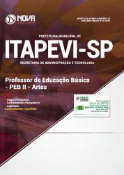 Apostila Prefeitura de Itapevi - SP 2019 Professor de Educação Básica - PEB II - Artes