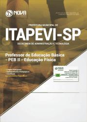 Apostila Prefeitura de Itapevi - SP 2019 Professor de Educação Básica - PEB II Educação Física