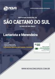 Apostila Prefeitura de São Caetano do Sul - SP 2019 - Lactarista e Merendeira