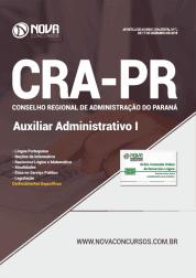 Apostila CRA-PR 2019 - Auxiliar Administrativo I