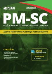 Apostila PM-SC 2019 - Agente Temporário de Serviço Administrativo