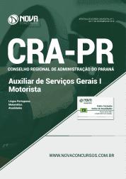 Apostila CRA-PR 2019 - Auxiliar de Serviços Gerais e Auxiliar de Serviços Gerais I Motorista