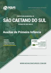 Apostila Prefeitura de São Caetano do Sul-SP 2019 - Auxiliar de Primeira Infância