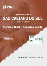 Apostila Prefeitura de São Caetano do Sul - SP 2019 - Professor Nível I de Educação Infantil