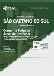Apostila Prefeitura de São Caetano do Sul - SP 2019 - Comum a Todas as Áreas de Professor