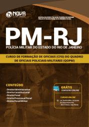 Apostila Download PM-RJ 2019 - Curso de Formação de Oficiais (CFO) do Quadro de Oficiais Policiais-Militares (QOPM)