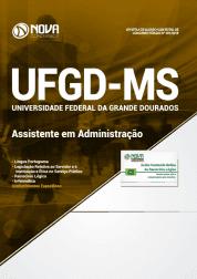 Apostila Download UFGD-MS 2019 - Assistente em Administração