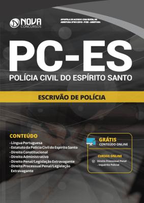 Apostila PC-ES 2019 - Escrivão de Polícia