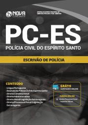 Apostila Download PC-ES 2019 - Escrivão de Polícia