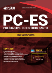 Apostila Download PC-ES 2019 - Investigador