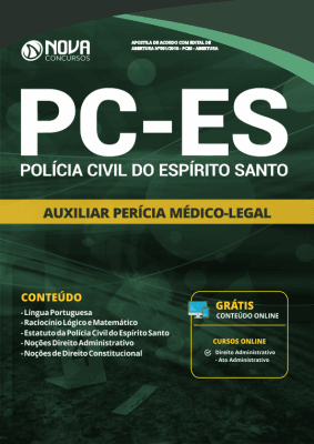 Apostila PC-ES 2019 - Auxiliar de Perícia Médico-Legal