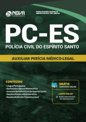 Apostila Download PC-ES 2019 - Auxiliar de Perícia Médico-Legal