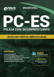 Apostila Download PC-ES 2019 - Auxiliar de Perícia Médico-Legal