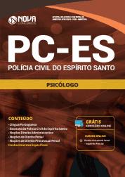 Apostila PC-ES 2019 - Psicólogo