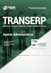 Apostila TRANSERP 2019 - Agente Administrativo