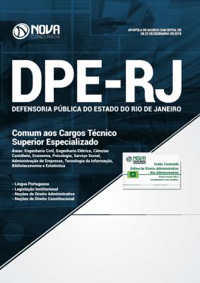 Apostila DPE-RJ 2019 - Comum aos Cargos Técnico Superior Especializado