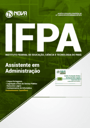 Apostila IFPA-PA 2019 - Assistente em Administração