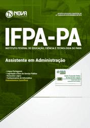 Apostila Download IFPA-PA 2019 - Assistente em Administração