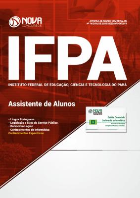 Apostila IFPA-PA 2019 - Assistente de Alunos