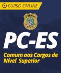 Curso Online PC-ES 2019 - Comum aos Cargos de Nível Superior