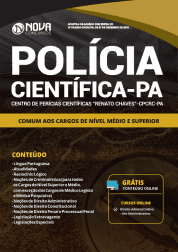Apostila Polícia Científica do Pará - PA 2019 - Comum aos Cargos de Nível Médio e Superior