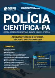 Apostila Polícia Científica do Pará - PA 2019 - Auxiliar Técnico de Perícia - Técnico em Enfermagem