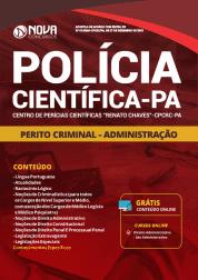 Apostila Polícia Científica do Pará - PA 2019 - Perito Criminal - Administração