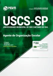 Apostila USCS-SP 2019 - Agente de Organização Escolar