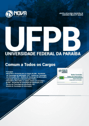 Apostila Download UFPB 2019 - Comum a Todos os Cargos