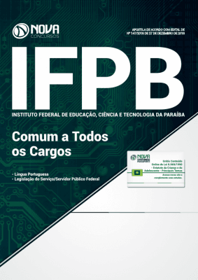 Apostila IFPB 2019 - Comum a Todos os Cargos