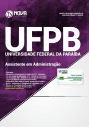Apostila UFPB 2019 - Assistente em Administração