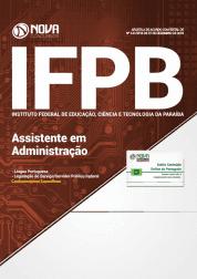 Apostila IFPB 2019 - Assistente em Administração