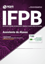 Apostila IFPB 2019 - Assistente de Alunos