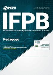 Apostila IFPB 2019 - Pedagogo