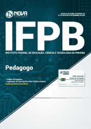 Apostila Download IFPB 2019 - Pedagogo
