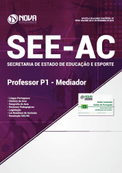 Apostila Download SEE-AC 2019 - Professor P1 - Mediador