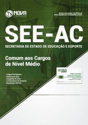 Apostila SEE-AC 2019 - Comum aos Cargos de Nível Médio