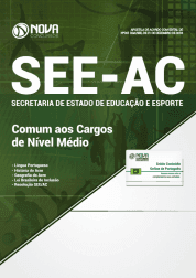 Apostila Download SEE-AC 2019 - Comum aos Cargos de Nível Médio