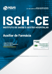 Apostila Download ISGH-CE 2019 - Auxiliar de Farmácia