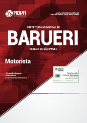 Apostila Prefeitura de Barueri - SP 2019 - Motorista