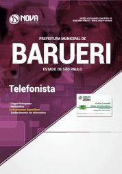 Apostila Download Prefeitura de Barueri - SP 2019 - Telefonista